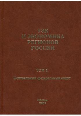 ТЭК и экономика регионов России. Том 1. Центральный федеральный округ