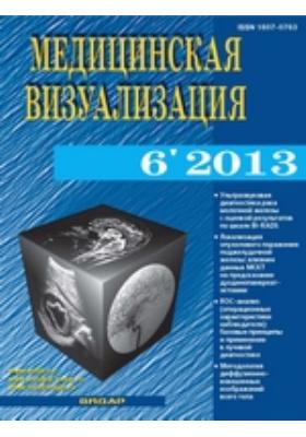 Медицинская визуализация. 2013. № 6