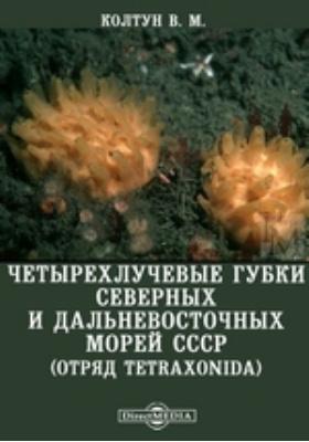 Четырехлучевые губки северных и дальневосточных морей фауны СССР (отряд Tetraxonida)