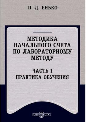 Методика начального счета по лабораторному методу, Ч. 1. Практика обучения