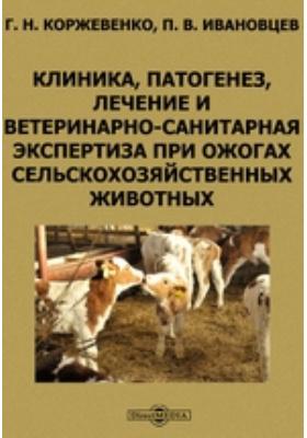 Клиника, патогенез, лечение и ветеринарно-санитарная экспертиза при ожогах сельскохозяйственных животных
