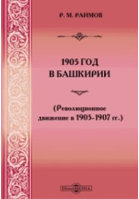 1905 год в Башкирии : Революционное движение в 1905-1907 гг