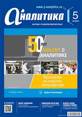 Аналитика: научно-технический журнал. 2015. № 5(24)
