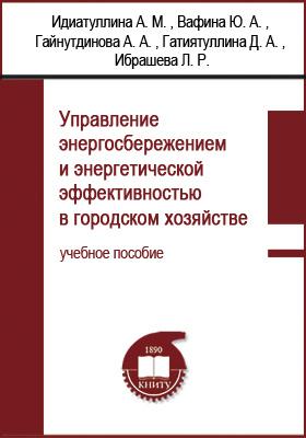 Управление энергосбережением и энергетической эффективностью в городском хозяйстве: учебное пособие