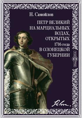 Петр Великий на Марциальных водах, открытых 1716 года в Олонецкой губернии