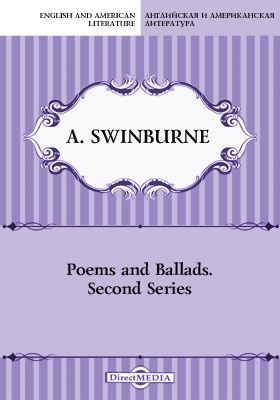 Poems and Ballads. Second Series